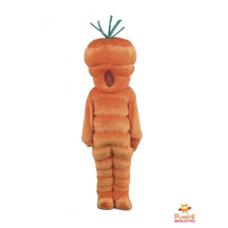 Mascotte carotte Planète Mascottes