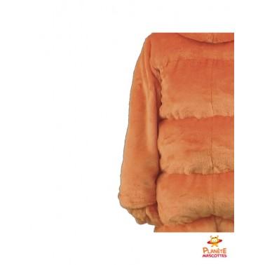 Détails costume mascotte carotte