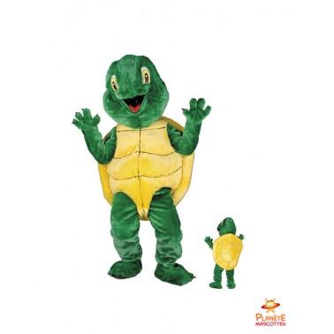 Mascotte tortue Planète Mascottes