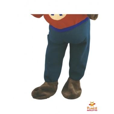 Pantalon mascotte écureuil Planète Mascottes