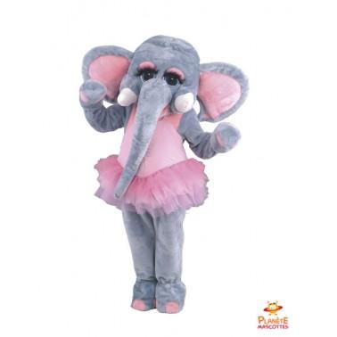 Costume mascotte d'Eléphant