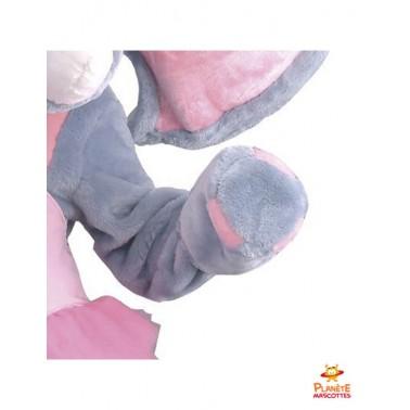Détails costume mascotte d'éléphant