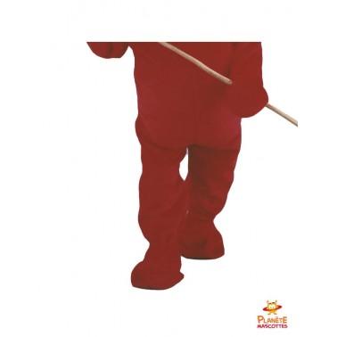 Pantalon mascotte de diable