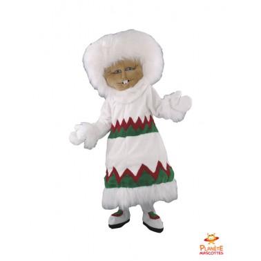 Costume mascotte d'Esquimo