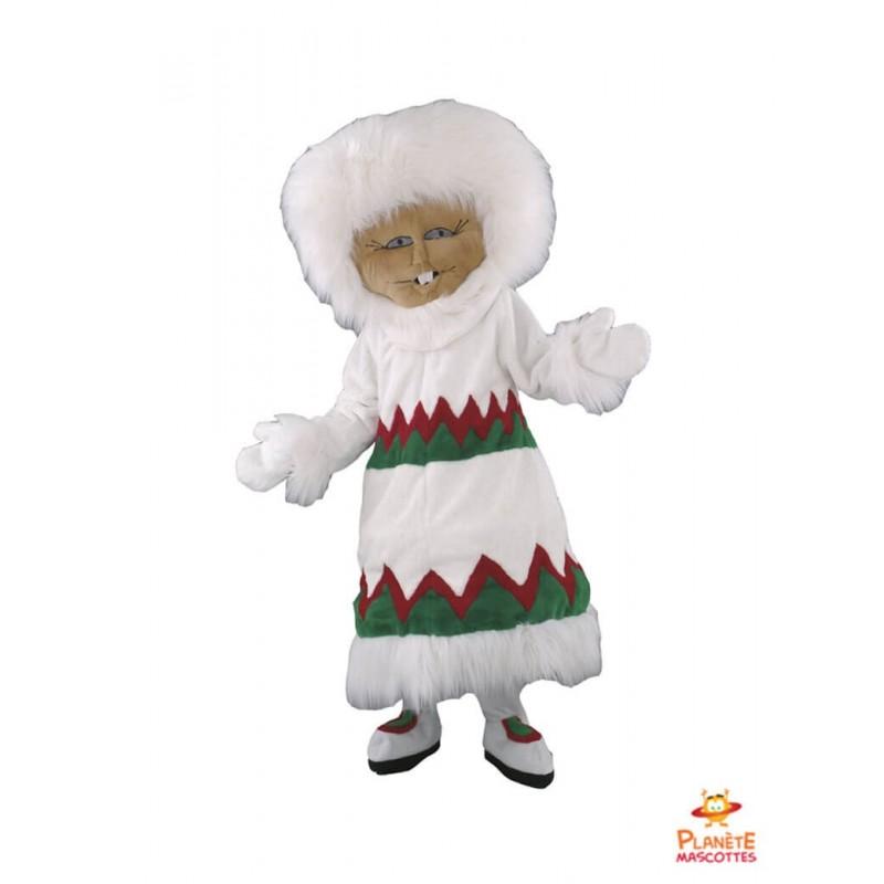 Mascotte d'esquimau Planète Mascottes