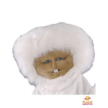 Tête mascotte d'esquimau