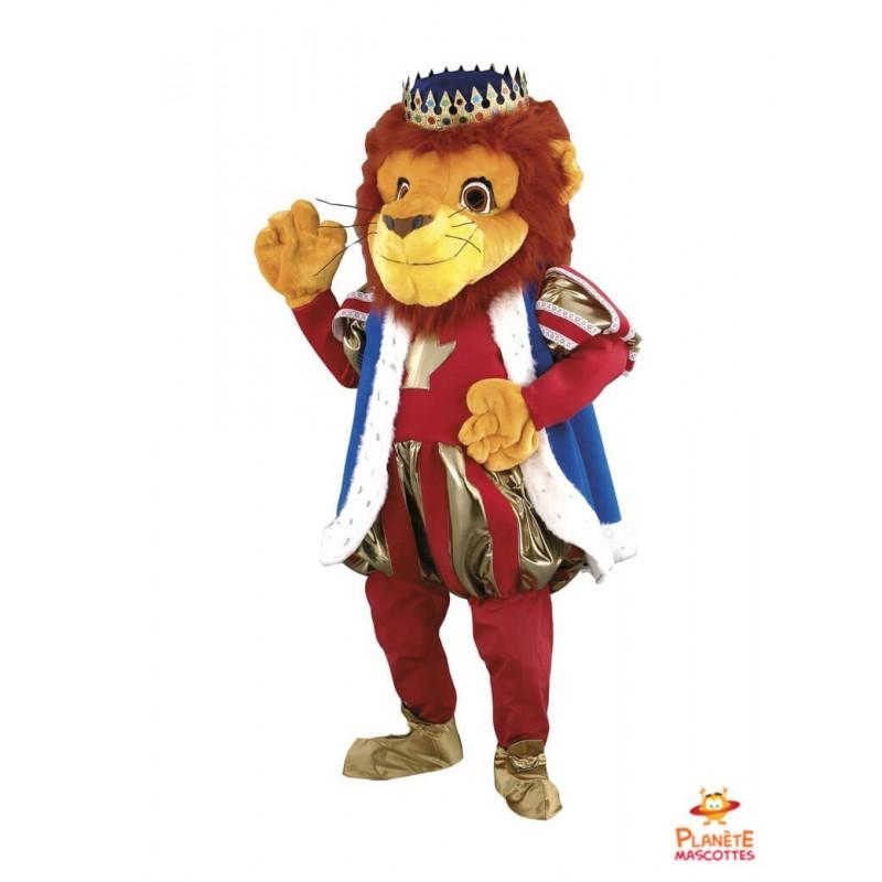 Mascotte Roi Lion Planète Mascottes