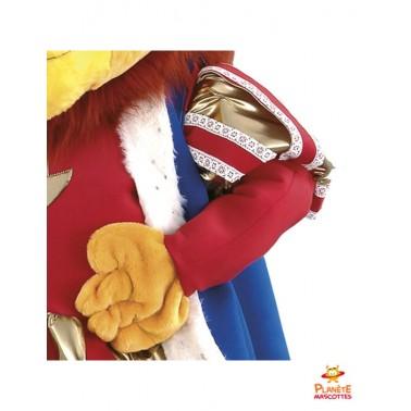 Détails costume mascotte Roi Lion