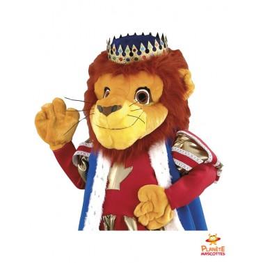 Costume mascotte Roi Lion
