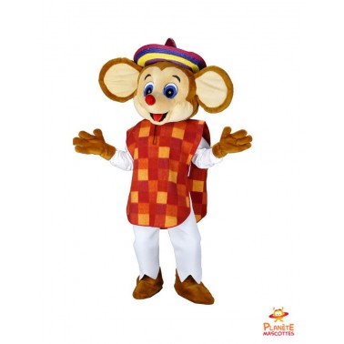 Mouse Mascot Costume Mexican
