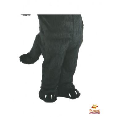 Pantalon mascotte de loup