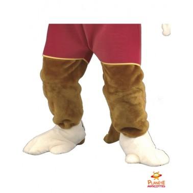 Pantalon mascotte singe habillé