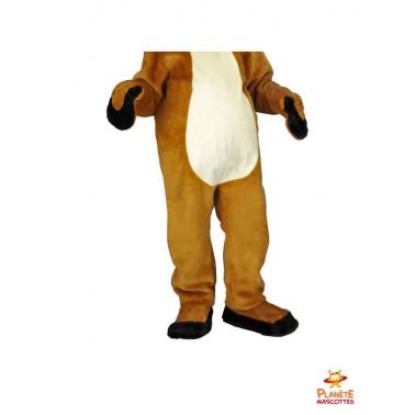Pantalon mascotte costume renne