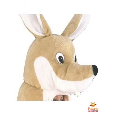 Tête costume mascotte kangourou