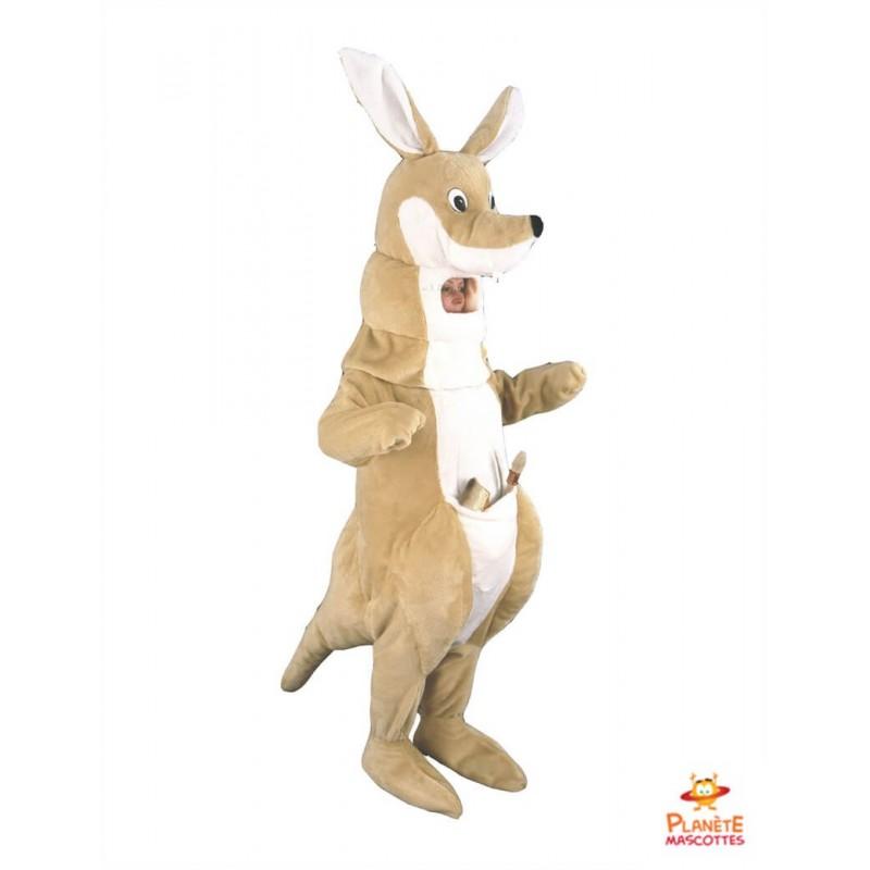 Mascotte kangourou Planète Mascottes