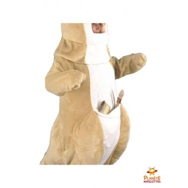 Poche mascotte de kangourou