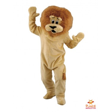 Costume mascotte de Lion
