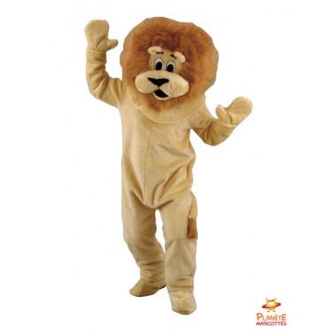 Disfraz de león Planète Mascottes