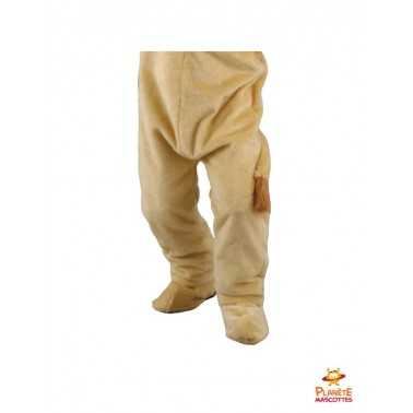 Pantalon costume lion mascotte
