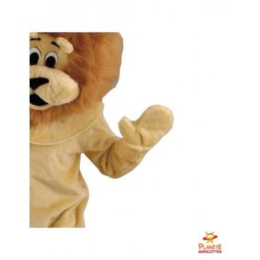 Détails costume mascotte de lion