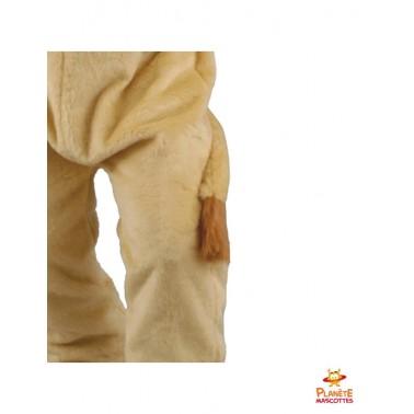 Détails pantalon lion mascotte