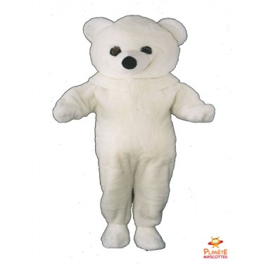 Costume mascottes d'Ours blanc