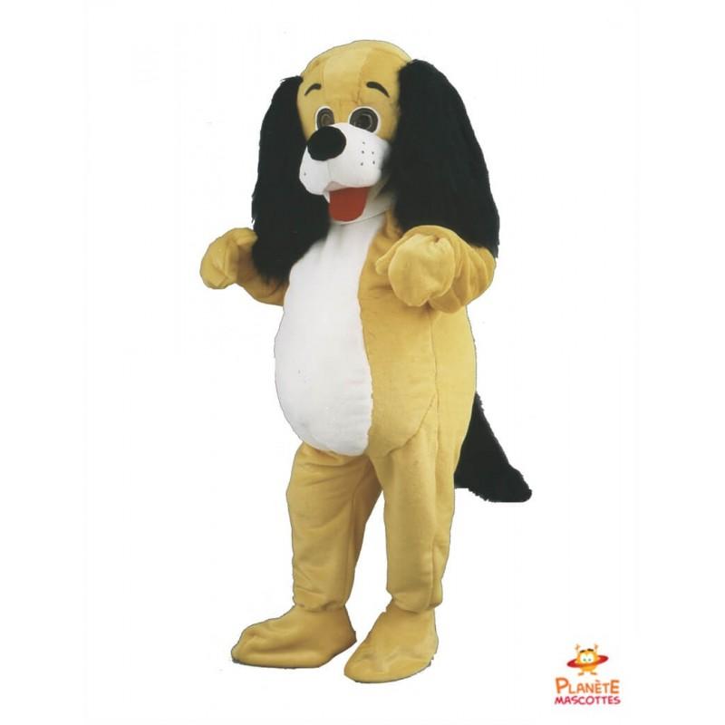 Mascotte chien teckel Planète Mascottes
