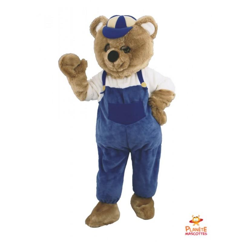 Mascotte ours habillé Planète Mascottes