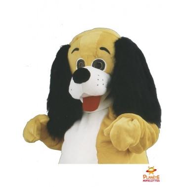 Mascotte chien teckel