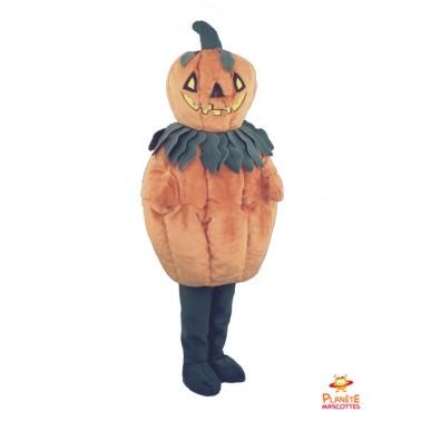 Costume mascotte de Citrouille