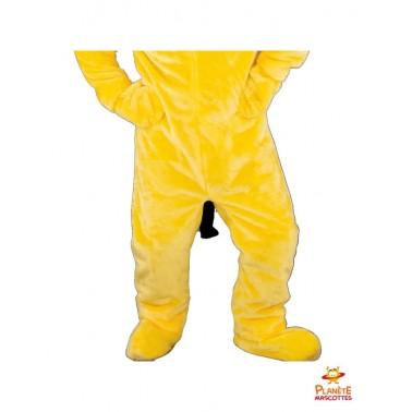 Pantalon mascotte chien jaune