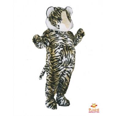 Costume mascotte de Tigre