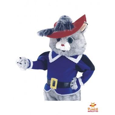 Costume mascotte le chat botté