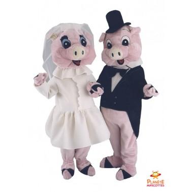 Costume mascotte Cochons...