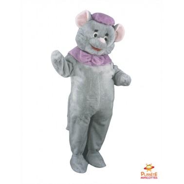 Disfraz de mascota de ratón Planète Mascotte