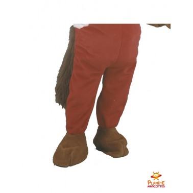 Pantalon mascotte castor