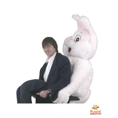 Costume mascotte de lapin magicien