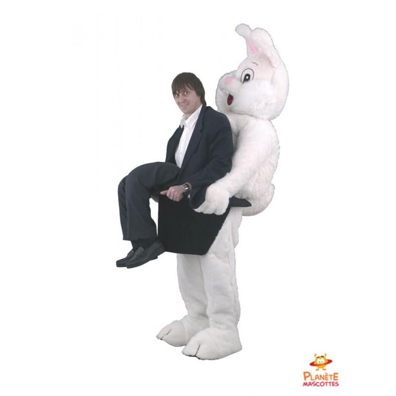 Mascotte lapin magicien Planète Mascottes