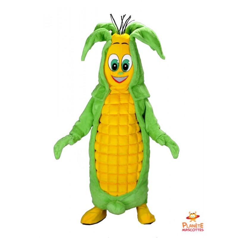 Mascotte maïs Planète Mascottes