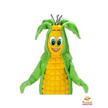 Corps mascotte maïs Planète Mascottes