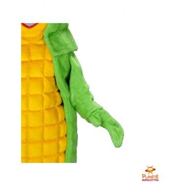 Détails mascotte maïs Planète Mascottes