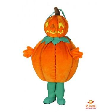 Pumpkin stuffed mascots