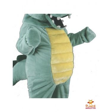 Costume mascotte croco Planète Mascottes