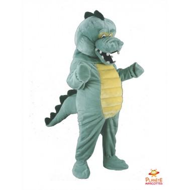 Costume mascotte de Crocodile