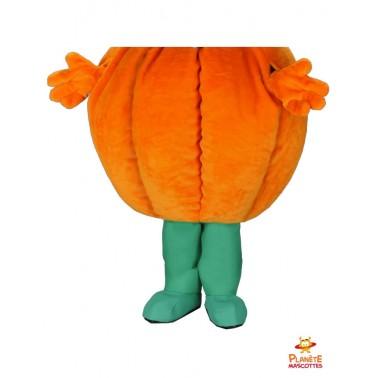 Pantalon mascotte costume citrouille