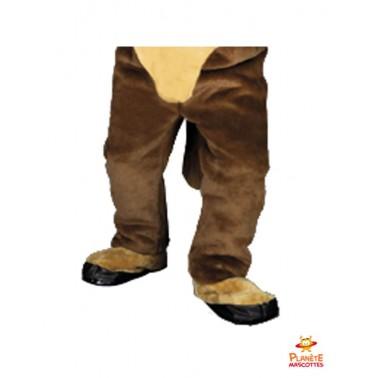 Pantalon costume mascotte taureau