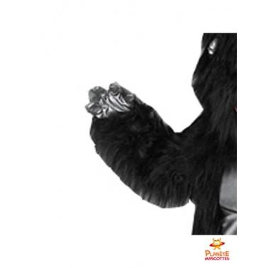 Détails costume mascotte gorille