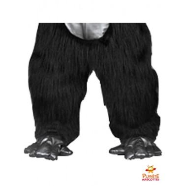 Pantalon mascotte de gorille