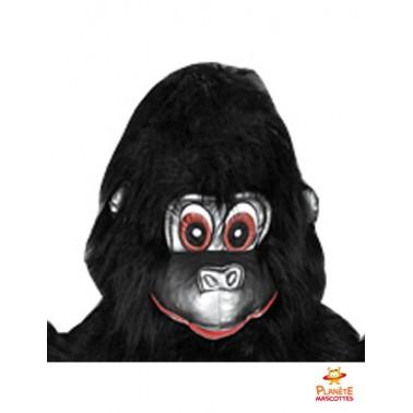 Tête mascotte de gorille
