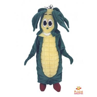 Mascotte peluche Epi de maïs